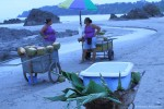 Vendors on the Beach