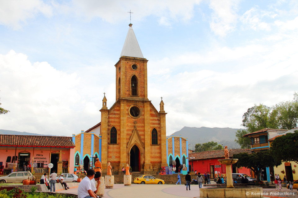 Raquira Town Square