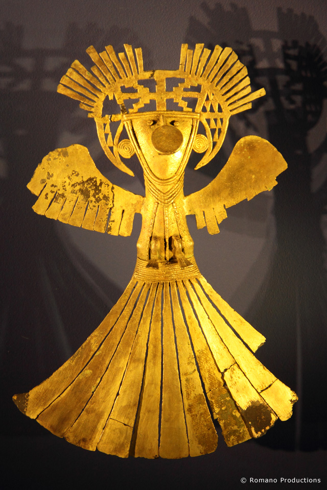 Golden Sculpture