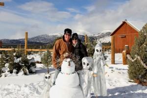 Snowwoman & Alien Babies